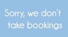 No Bookings